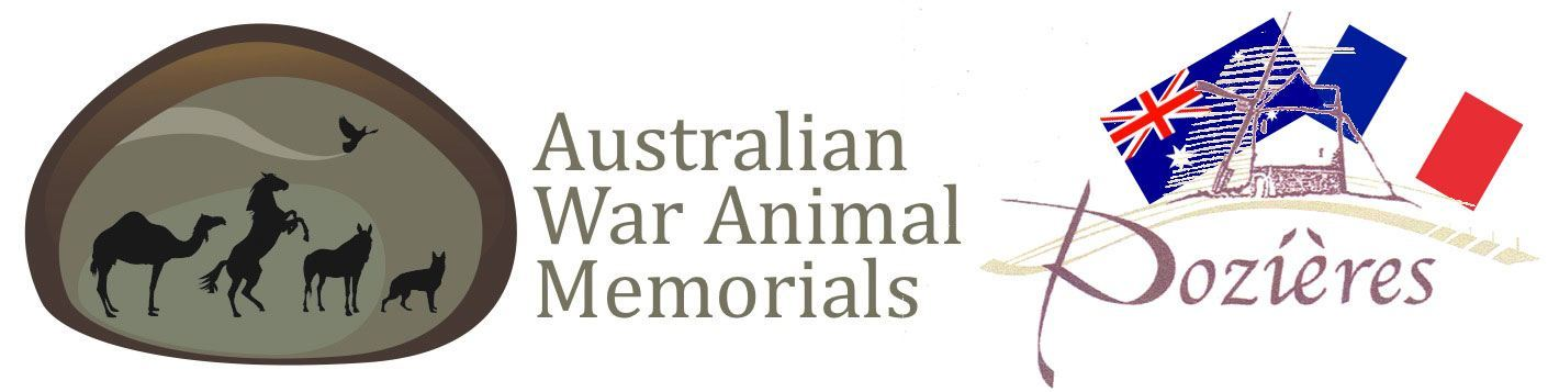 Pozieres & The Australian War Animal Memorial Organisation