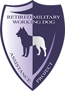 Retired Millitary Working Dog Project Logo
